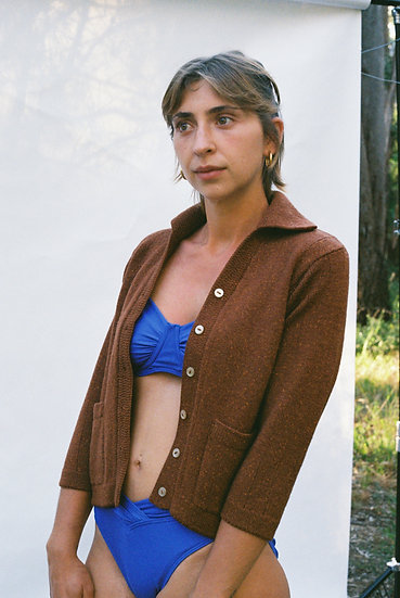 Vintage Australian Hand Knit Cardigan