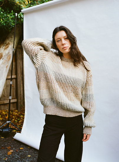 Vintage 90's Sovrano Wool and Mohair Knitted Sweater