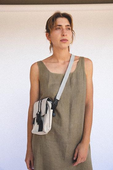 Vintage Buckle Side Bag Satchel