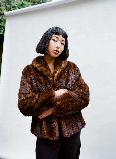 Vintage N.M Heilig Genuine Fur Jacket