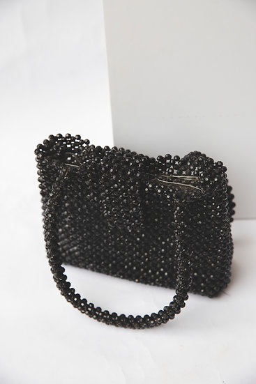 Vintage Glam Stud Clutch  Hand Bag