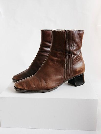 Vintage Sandler Genuine Leather Boots