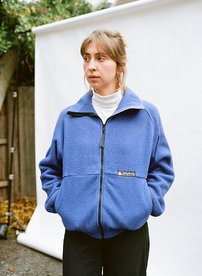 Vintage Fairydown 90's Retro Polartec Fleece Zip Up Jumper