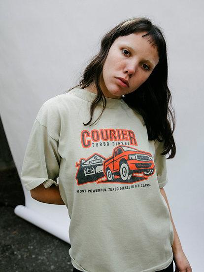 Vintage 90's Courier Turbo Diesel Printed Boxy Tee