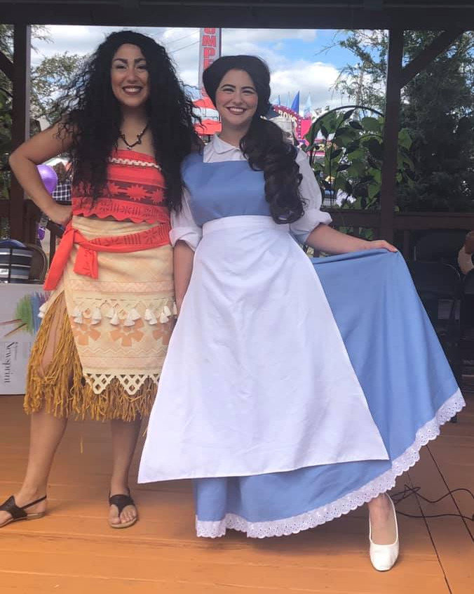 Belle and Moana