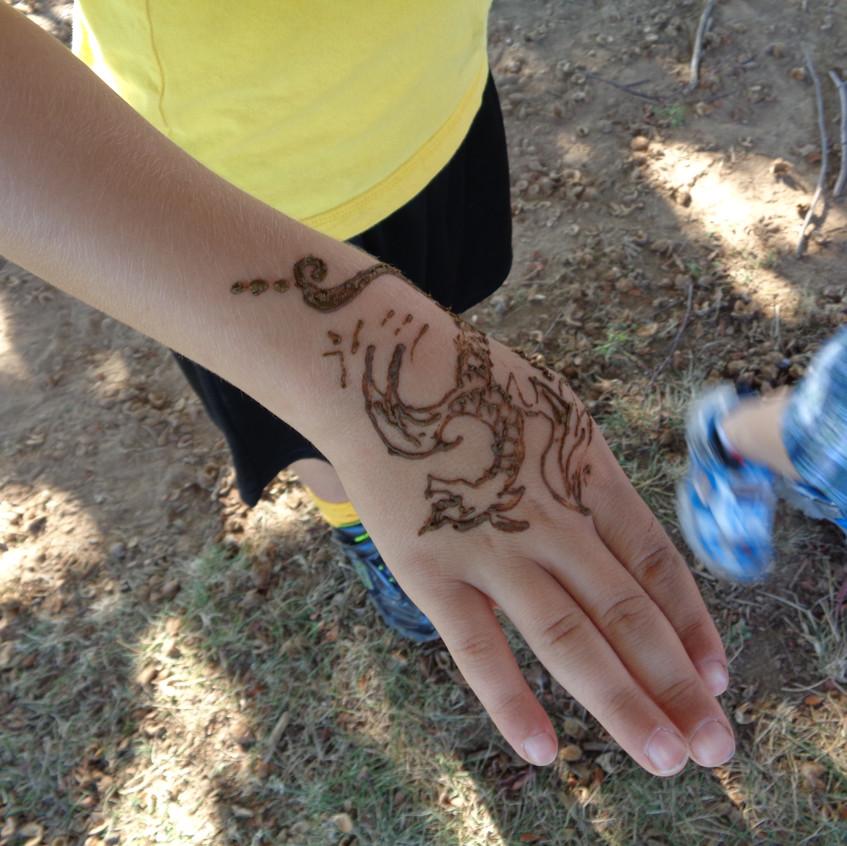 CT henna tattoo