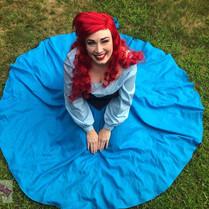 Ariel blue dress