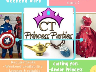 We're so happy that CT Princess Parties is back in action!