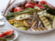 Phase 1 compliant grilled vegetables