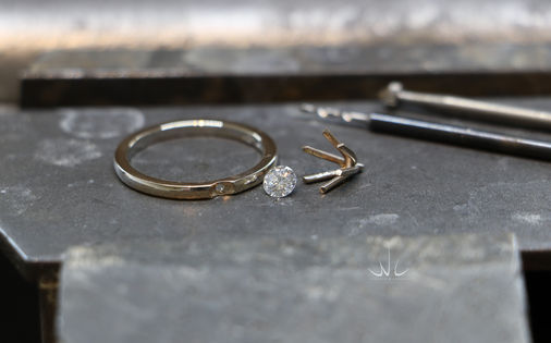 Verlovingsring 0.25ct diamant