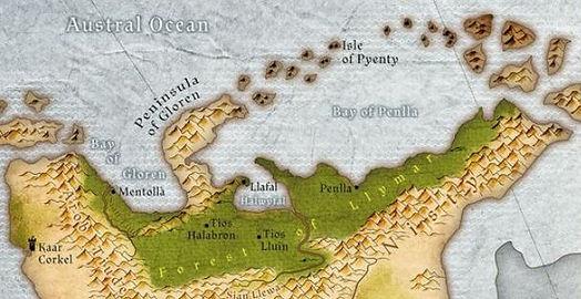 Map Forest of Llymar..JPG