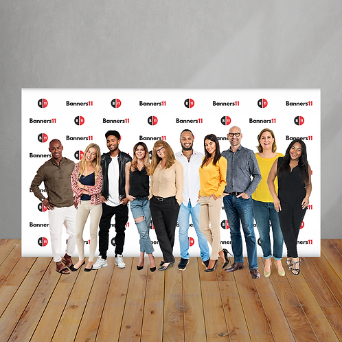 14' x 8' Fabric Step and Repeat Banner