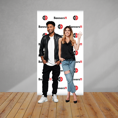 4x8 Fabric Step and Repeat Banner