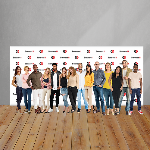 20' x 8' Fabric Step and Repeat Banner