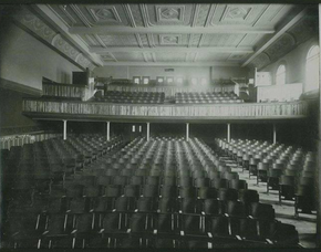 Chandler Interior Audience seating B&W a