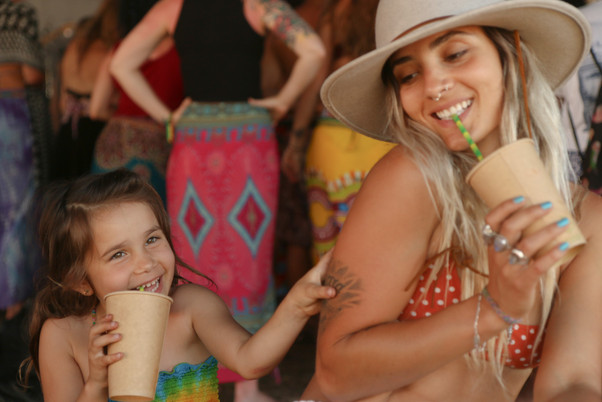 Kids have the best time at Island Vibe