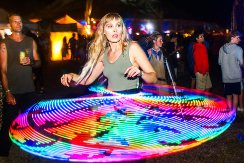 Technicolour light skirts