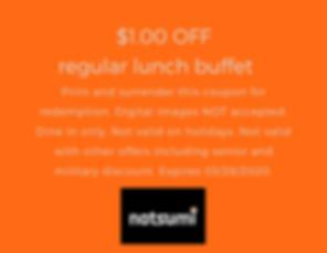 $1.00 OFF regular lunch buffet.png