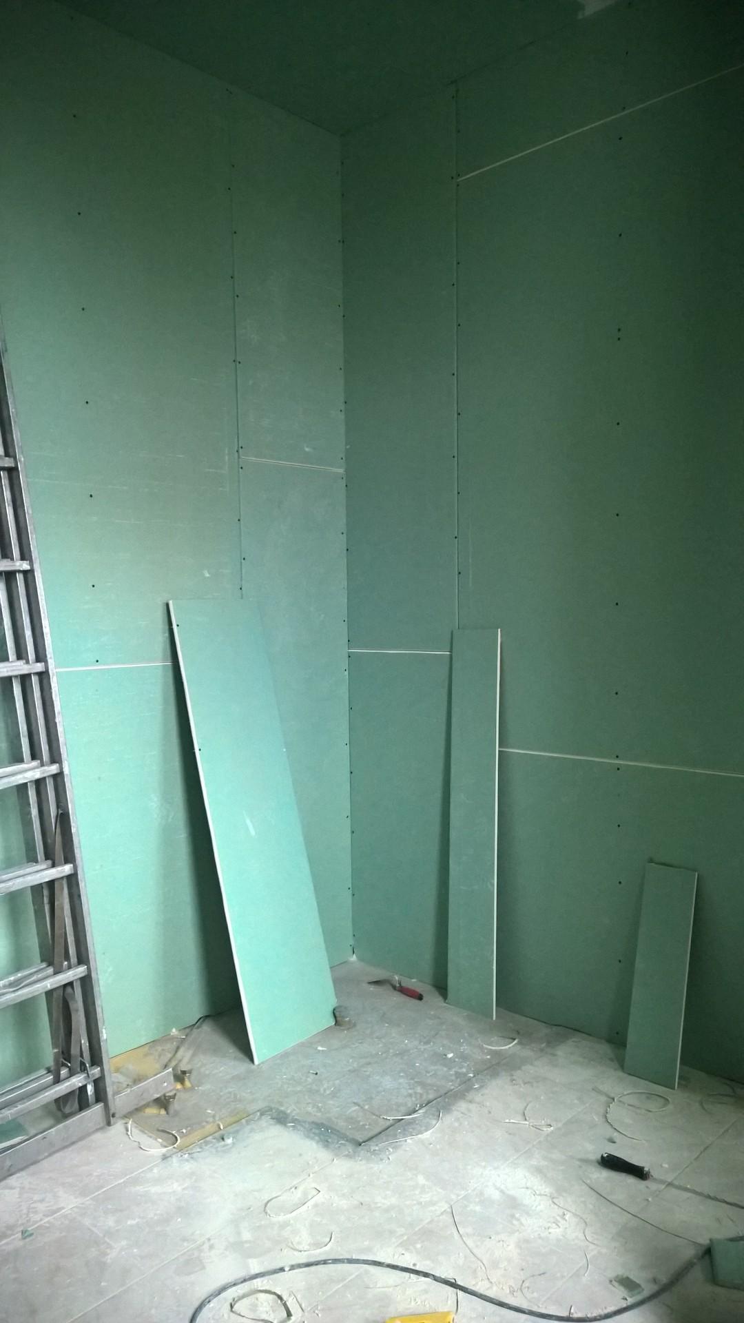 Alle Wände wurden neu isoliert