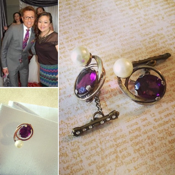 From earrings to cuff links