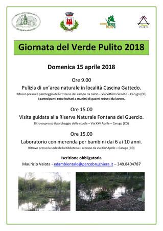Giornata del verde pulito 2018