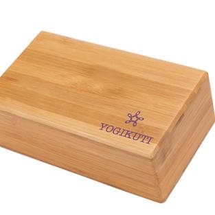 Yogikuti Ξύλινο τουβλάκι Γιόγκα από μπαμπού