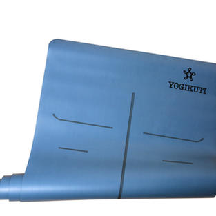 Yogikuti Premium Yoga Mat 4mm Blue