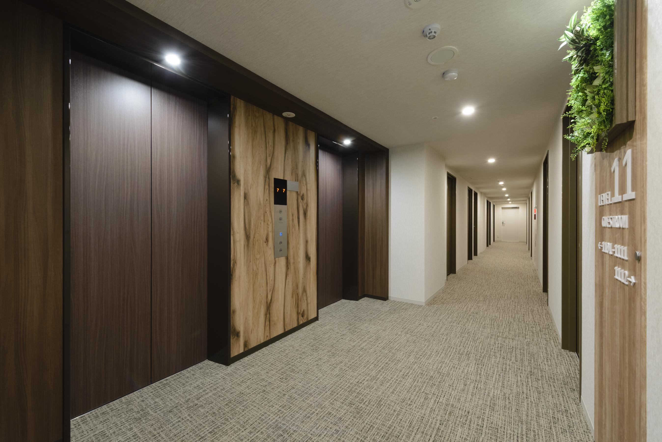 28 エレベーターホール