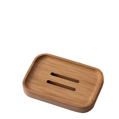 Khay đựng xà phòng gỗ Dẻ Gai / Wooden Soap Tray - Beech