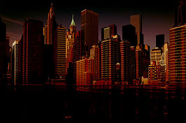 New York, Manhattan, USA, Urbanisation, Places