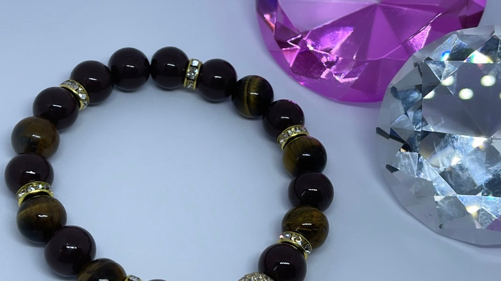 Tigers Eye Cross