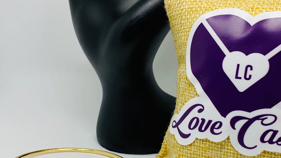 Love Arrow (Gold Tone)