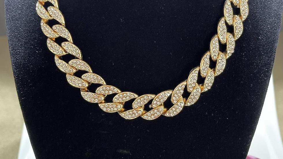 Cuban Necklace (Gold Tone)