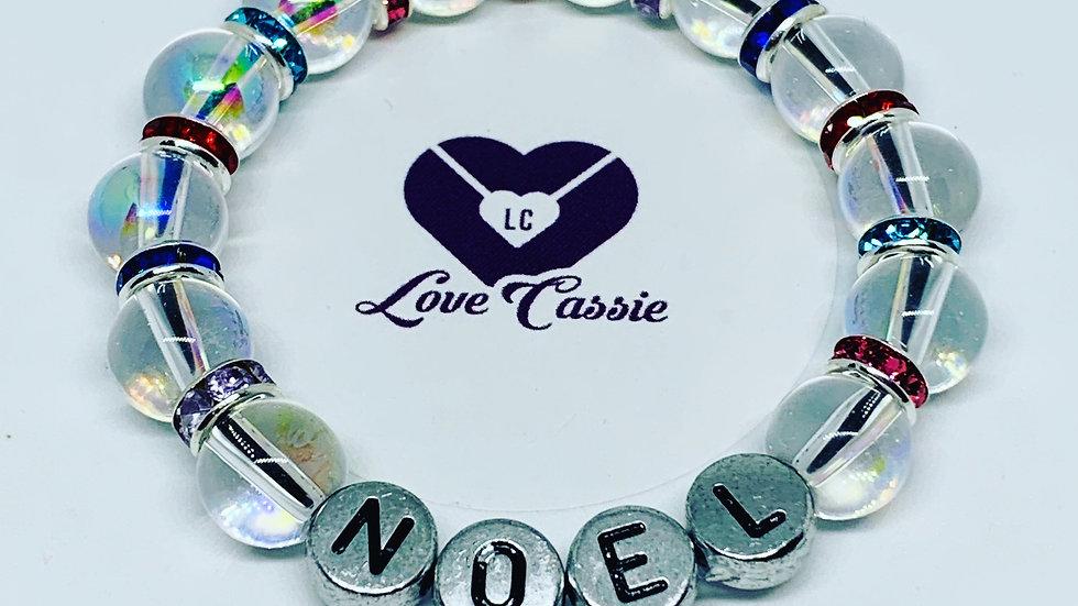 Baby name bracelets