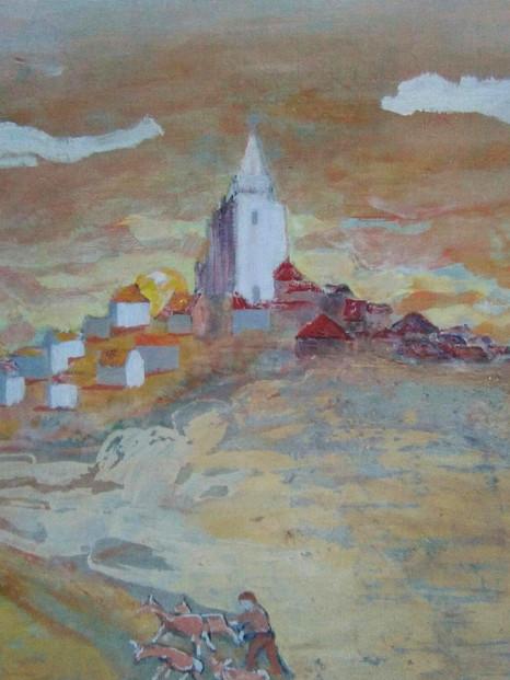 Réalisation de petites toiles de peintre