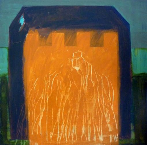Fantasmé e. Acrylique sur toile. 100 x 100