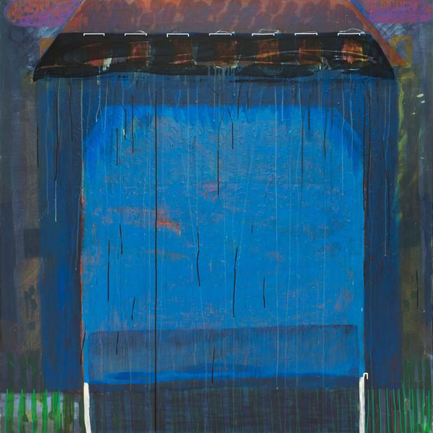 Maison Active.  Acrylique sur toile. 140 x 140