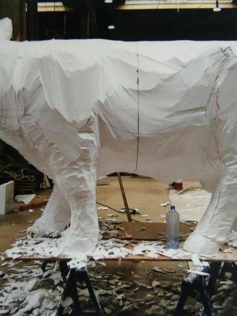 Assistante d'Anne Leray sculpteur
