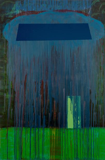 Abritation.  Acrylique sur toile. 80 x 120