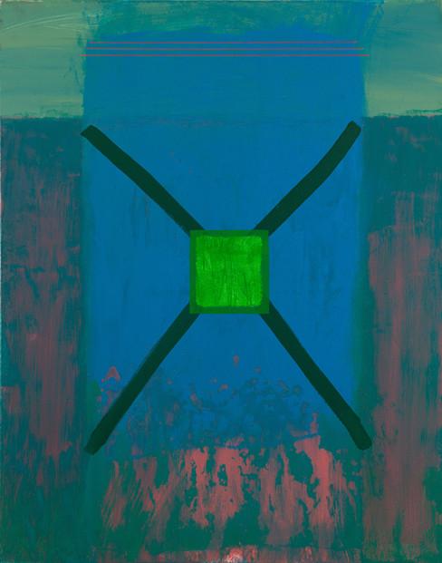 Abritation.  Acrylique sur toile. 120 x 80