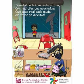 Fórum Nacional DCA Estimula Mobilização e Debate Público no Dia Mundial Contra o Trabalho Infantil