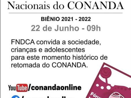 POSSE DA NOVA GESTÃO DO CONANDA