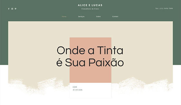 Ver todos os templates website templates – Especialistas em Cores