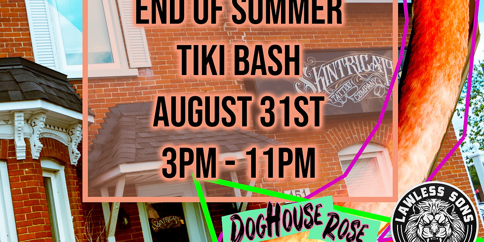 End of Summer Tiki Bash!