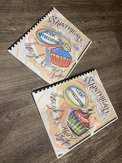 Client Appreciation Years 1 - 7 Colouring Books