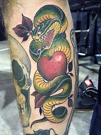Snake by Mike Mille -  - Skintricate Tattoo Company