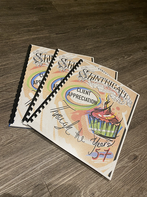 Client Appreciation Years 5 - 7 Colouring Book