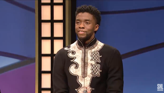 "ICYMI: T'Challa Kills on ""Black Jeopardy"" and Cardi B Performed on SNL!"