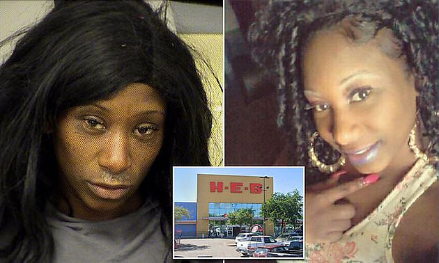 Woman arrested after twerking while naked on vehicle at