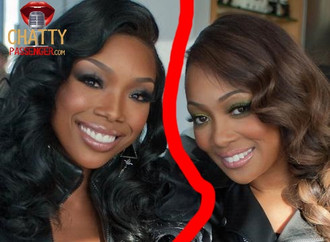 Brandy and Monica Fall Out AGAIN!
